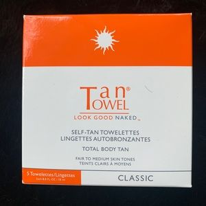 Brand New Tan Towel self-tan towelettes, classic